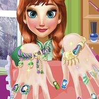 Anna manikűrje