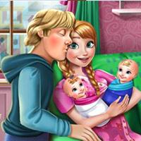 Anna's Baby Twins Birth
