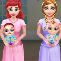 Ariel And Anna Baby Birth
