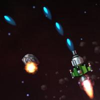 لعبة مهمة حرب في الفضاء Asteroid