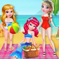 BFFs Summer Beach Picnic