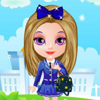 Baby Halen Go To School Free Mobile Game Online Yivcom