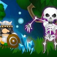 لعبة مقطع العظام Bones Slasher