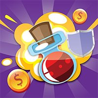 لعبة تجنب العقبات وجمع النقود الذهبية