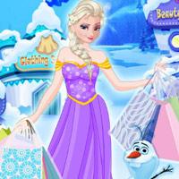 لعبة محل ملابس السا Elsa Clothing Store
