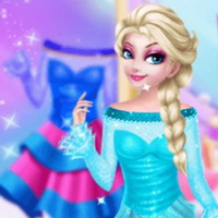 Elsa Custom Dress Design