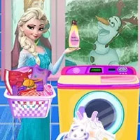Elsa nagy mosása
