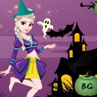 Halloween Jégvarázs öltöztetős