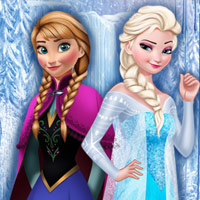 Frozen Sisters Decorate Bedroom