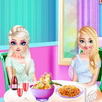 Frozen Sisters Delicious Lunch