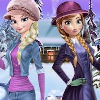 Jégvarázs téli öltöztetős