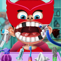 Girl Baby Dentist