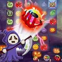 Halloweenes leszedő