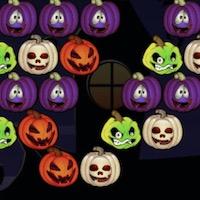 Halloween golyó leszedő - Leszedős tábla játékok mindenkinek