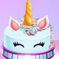 Little Anna Unicorn Cake Make