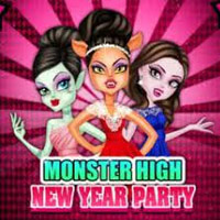 Monster High New Year Party