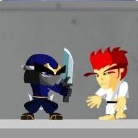 لعبة رجل النينجا الشجاع Ninja Man