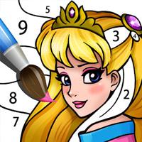 لعبة كتاب تلوين الاميرة 3 Princess Coloring Book 3