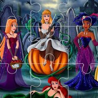 Princess Halloween Jigsaw