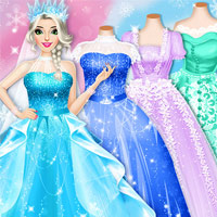 Princesses Buy Wedding Dresses
