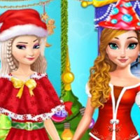 Princesses Christmas Party
