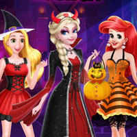 Princesses Halloween Surprise Gift