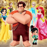 Ralph And Vanellope Save Princesses