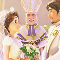 Rapunzel's Wedding Day