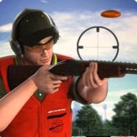 لعبة التصويب بالبندقية علي الاطباق الطائرة Skeet Shooting
