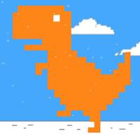 لعبة ركض الديناصور تريكس T-Rex Runner