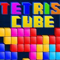 لعبة ترتيب المكعبات الملونة Tetris Cube
